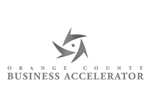 Orange County Business Accelerator Black and White